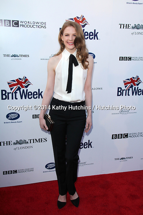 BODHILOS ANGELES - APR 22:  Ashley Bell at the 8th Annual BritWeek Launch Party at The British Residence on April 22, 2014 in Los Angeles, CA