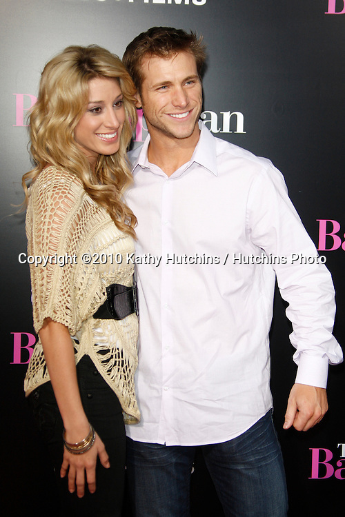 """Vienna Girardia and Jake Pavelka.arrives at """"The Back-up Plan"""" Premiere.Regency Village Theater.Westwood, CA.April 21, 2010.©2010 Kathy Hutchins / Hutchins Photo..."""