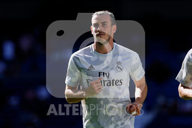 Gareth Bale of Real Madrid during La Liga match between Real Madrid and Granada CF at Santiago Bernabeu Stadium in Madrid, Spain. October 05, 2019. (ALTERPHOTOS/A. Perez Meca)