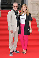 Bjorn Runge and Alix Wilton Regan at the &quot;The Wife&quot; Film4 Summer Screen opening gala &amp; launch party, Somerset House, The Strand, London, England, UK, on Thursday 09 August 2018.<br /> CAP/CAN<br /> &copy;CAN/Capital Pictures