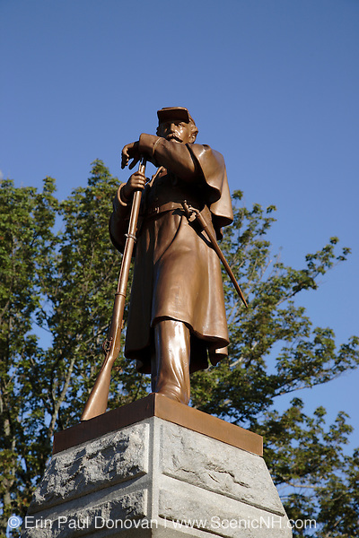 Candia Soldier?s Monument...Located  in Candia, New Hampshire USA which is part of scenic New England
