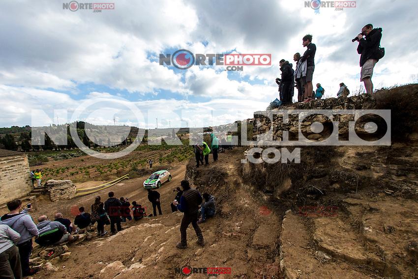 TIDEMAND Pontus / ANDERSSON Jonas during the World Rally Car RACC Catalunya Costa Dourada 2016 / Rally Spain, in Catalunya, Spain. October 15, 2016. (ALTERPHOTOS/Rodrigo Jimenez) NORTEPHOTO.COM