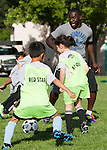 Red Star Soccer/Earthquakes clinic at Eagle Park in Mountain View, May 17, 2012.