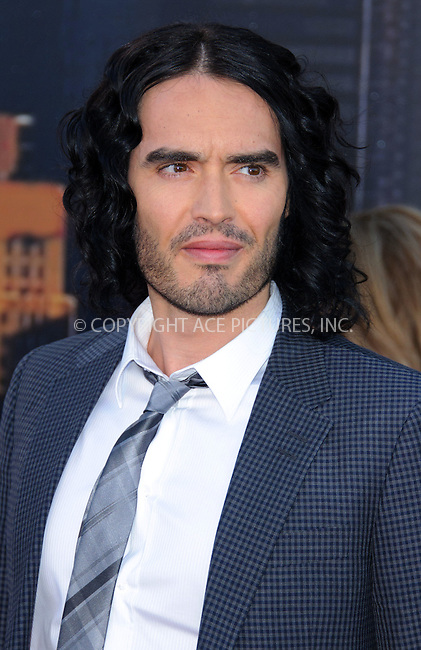WWW.ACEPIXS.COM . . . . .  ..... . . . . US SALES ONLY . . . . .....April 20 2011, London....Russell Brand arriving at the European Premiere of Arthur at Cineworld 02 on April 19, 2011 in London....Please byline: FAMOUS-ACE PICTURES... . . . .  ....Ace Pictures, Inc:  ..Tel: (212) 243-8787..e-mail: info@acepixs.com..web: http://www.acepixs.com