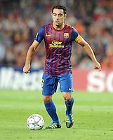 FUSSBALL   CHAMPIONS LEAGUE   SAISON 2011/2012   GRUPPE  H 13.09.2011 FC Barcelona - AC Mailand  Xavi Hernandez (Barca)