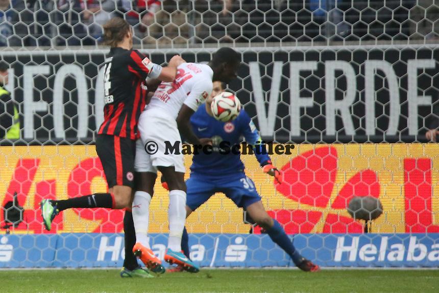 Alex Meier (Eintracht) gegen Antonio Rüdiger (VfB) - Eintracht Frankfurt vs. VfB Stuttgart, Commerzbank Arena