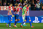 Atletico de Madrid's Kevin Gameiro, Koke Resurrecccion, Gabi Fernandez and Vrsaljko  during the Champions League match between Atletico de Madrid and PSV Eindhoven at Vicente Calderon Stadium in Madrid , Spain. November 23, 2016. (ALTERPHOTOS/Rodrigo Jimenez)