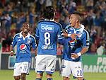 Bogotá- Millonarios F.C venció 1 gol por 0 a Alianza Petrolera, en el partido correspondiente a la fecha 16 del Torneo Clausura 2014, desarrollado el 25 de octubre en el estadio Nemesio Camacho 'El Campín'. Fenando Hincapie anotó para Millonarios en el minuto 32.