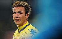 FUSSBALL   1. BUNDESLIGA   SAISON 2011/2012    15. SPIELTAG Borussia Moenchengladbach - Borussia Dortmund        03.12.2011 Mario Goetze (Borussia Dortmund)