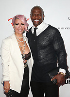 10 February 2019 - Los Angeles, California - Rebecca King-Crews, Terry Crews. Universal Music Group GRAMMY After Party celebrating the 61st Annual Grammy Awards held at The Row. Photo Credit: Faye Sadou/AdMedia