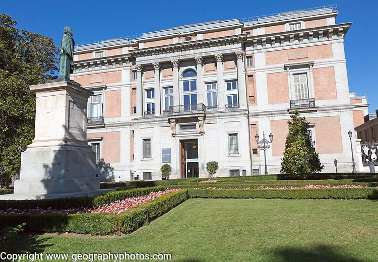 Puerte de Murillo Puerte Murillo entrance to Museo del Prado, museum art gallery, Madrid, Spain