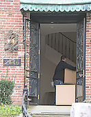 Movers carry boxes into the home at 2446 Belmont Road, NW; Washington, DC in the Kalorama neighborhood of Northwest Washington where where United States President Barack Obama and his family will reside after he leaves office.<br /> Credit: Ron Sachs / CNP<br /> (RESTRICTION: NO New York or New Jersey Newspapers or newspapers within a 75 mile radius of New York City)