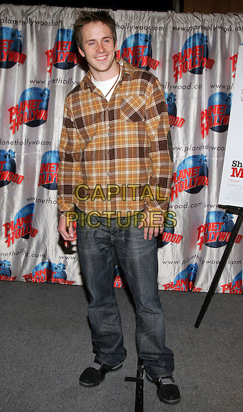 "ROBERT HOFFMAN .at handprint ceremony to promote Dreamwork's film ""She's the Man"" at Planet Hollywood, New York, NY, USA,.24 February 2006..full length.Ref: ADM/JL.www.capitalpictures.com.sales@capitalpictures.com.©Jackson Lee/AdMedia/Capital Pictures."