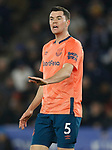 Michael Keane of Everton during the Premier League match against Leicester City at the King Power Stadium, Leicester. Picture date: 1st December 2019. Picture credit should read: Darren Staples/Sportimage