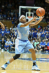 03 March 2013: North Carolina's Brittany Rountree. The Duke University Blue Devils played the University of North Carolina Tar Heels at Cameron Indoor Stadium in Durham, North Carolina in a 2012-2013 NCAA Division I and Atlantic Coast Conference women's college basketball game. Duke won the game 65-58.