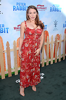 LOS ANGELES, CA - FEBRUARY 03: Alexandra Vino at the premiere of Columbia Pictures' 'Peter Rabbit' at The Grove on February 3, 2018 in Los Angeles, California. <br /> CAP/MPI/DE<br /> &copy;DE//MPI/Capital Pictures