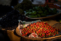 Fruit and vegetables for sale at Ywama Market, Inle Lake, Shan State, Myanmar (Burma)