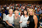 At the Christy Moore  concert in Ballyroe Heights Hotel on Friday were Bernadette Leahy, Stephanie Nelan, Karina Nelan, Danni Kelly