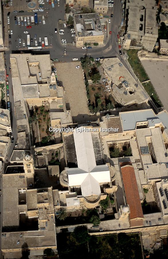 The Church of the Nativity at the heart of Bethlehem
