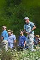 Lucas Glover (USA) watches his tee shot on 10 during round 3 of the Houston Open, Golf Club of Houston, Houston, Texas. 3/31/2018.<br /> Picture: Golffile | Ken Murray<br /> <br /> <br /> All photo usage must carry mandatory copyright credit (&copy; Golffile | Ken Murray)