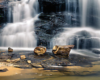 Falls on the Little River; Little River National River Canyon National Preserve, AL