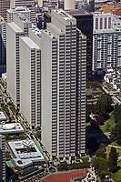 aerial photograph San Francisco Embarcadero Center