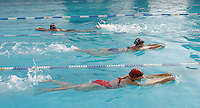 28 OCT 2003 - PAPHOS, CYPRUS - Swim training during the British Triathlon Elite Squad training camp. (PHOTO (C) NIGEL FARROW)