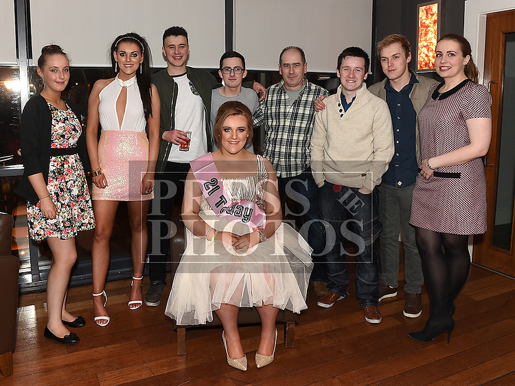 Shauna McCullagh celebrating her 21st birthday in Brú with friends. Photo:Colin Bell/pressphotos.ie