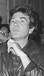 Albert Finney takes in a Broadway Show in New York City.<br />