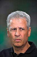 20.08.2018, Football DFB Pokal 2018/2019, 1. round, SpVgg Greuther Fuerth - Borussia Dortmund, Sportpark Ronhof in Fuerth. Trainer Lucien Favre (Dortmund) .<br />