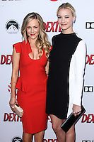 HOLLYWOOD, CA - JUNE 15: Julie Benz and Yvonne Strahovski arrive at the premiere screening of Showtime's 'Dexter' Season 8 at Milk Studios on June 15, 2013 in Hollywood, California. (Photo by Celebrity Monitor)
