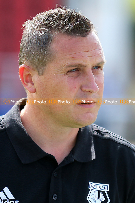 Watford's Head of Academy, Chris McGuane during Woking vs Watford, Friendly Match Football at The Laithwaite Community Stadium on 8th July 2017