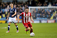 Neal Maupay of Brentford in action during Millwall vs Brentford, Sky Bet EFL Championship Football at The Den on 10th March 2018