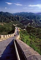 The Great Wall at Badaling near Beijing China.