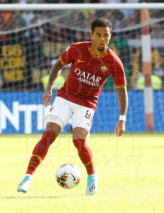 Roma' Justin Kluivert in action during the Serie A soccer match between Roma and Cagliari at Rome's Olympic Stadium, October 6, 2019. UPDATE IMAGES PRESS/ Riccardo De Luca