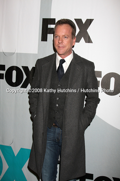 Kiefer Sutherland  arriving at the Fox TV TCA Party  at MY PLACE  in Los Angeles, CA on .January 13, 2009.©2008 Kathy Hutchins / Hutchins Photo..                .