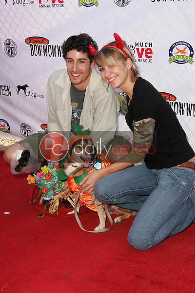 Jason Biggs and guest<br />