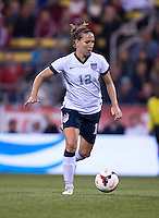 Lauren Holiday. The USWNT tied New Zealand, 1-1, at an international friendly at Crew Stadium in Columbus, OH.
