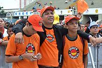 RIO DE JANEIRO-01/05/2012-Festa do Trabalhador na Apoteose-A comemoracao do Dia do Trabalho realizado pelas Centrais Sindicais  no Sambodromo - Praca XI - Centro do Rio de Janeiro.Foto:Marcelo Fonseca-Brazil Photo Press