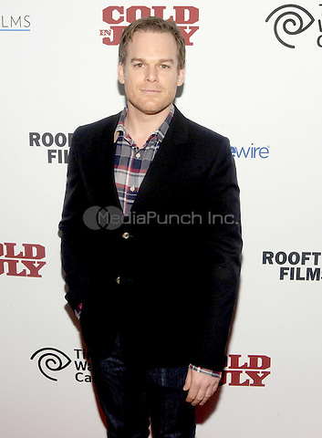"New York, NY- May 21: Michael C. Hall attends the Rooftop films ""Cold In July"" Neww York screening at IFC Theater on May 21, 2014 in New York City. Credit: John Palmer/MediaPunch"