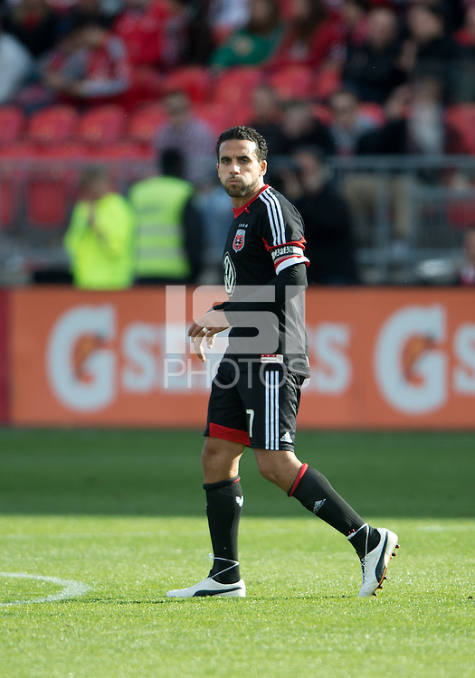 05 May 2012: D.C. United midfielder Dwayne De Rosario #7 in action during an MLS game between DC United and Toronto FC at BMO Field in Toronto..D.C. United won 2-0.