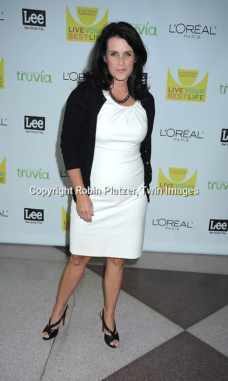 "Lisa Oz arriving at O, The Oprah Magazine's  Celebration of  it's 10th Anniversay at the ""Live Your Best Life"" event at The Jacob Javits Center on May 8, 2010."