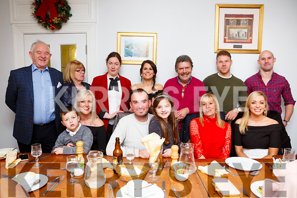 Chris Moloney enjoying a special birthday with her family in the Bella Bia Restaurant on Saturday evening last. Seated l-r, Toiresa Ferris, Seadhna Ferris Kelly , Pa Kelly &amp; Liadain Ferris Kelly, birthday girl Chris Moloney and Laura Lynch.<br /> Back l-r, John Kelly, Phil Kelly, Trish Kelly, Avril Moloney, Tom, Thomas &amp; Mike Moloney.