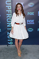 NEW YORK, NY - MAY 13: Melia Kreiling at the FOX 2019 Upfront at Wollman Rink in Central Park, New York City on May 13, 2019. <br /> CAP/MPI99<br /> &copy;MPI99/Capital Pictures