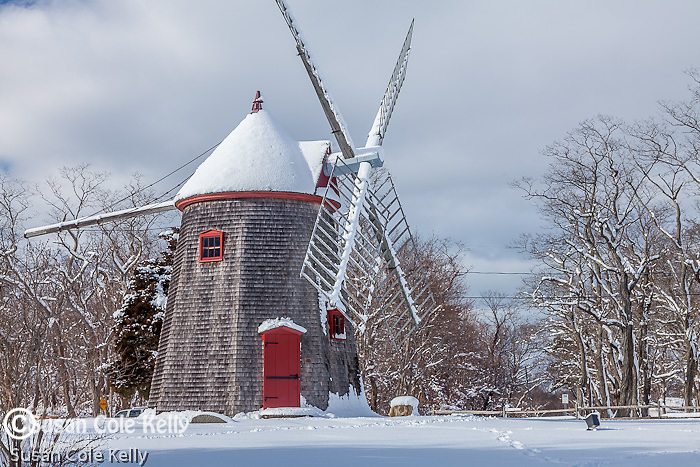 Eastham Windmill, Eastham, Cape Cod, MA, USA