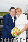 Myra Byrne, Fenit, daughter of Stephen and Betty Byrne, and John O'Brien, Ballyroe Heights, son of Hilary and Mary O'Brien, were married at ChurchHill by fr. Eamonn Mulvihill on Friday 20th March with a reception at Ballyroe Heights Hotel