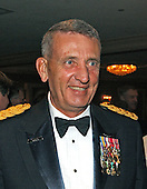 United States Army General Tommy Franks, Commander of the U.S. Central Command, attends a party prior to the 2002  White House Correspondent's Dinner at the Washington Hilton Hotel in Washington, DC on May 4, 2002.<br /> Credit: Ron Sachs / CNP