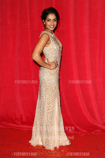 Mendip Gill arriving for the 2014 British Soap Awards, at the Hackney Empire, London. 24/05/2014 Picture by: Steve Vas / Featureflash