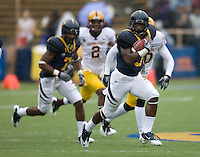 Jeremy Ross of California runs the ball during the game against ASU at Memorial Stadium in Berkeley, California on October 23rd, 2010.  California defeated Arizona State, 50-17.