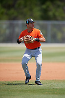 Miami Marlins Bubba Hollins (52) during a Minor League Spring Training game against the St. Louis Cardinals on March 26, 2018 at the Roger Dean Stadium Complex in Jupiter, Florida.  (Mike Janes/Four Seam Images)